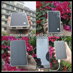 Huge Capacity 6000mA 180g for iphone 4 solar case charger For ipad/iphone