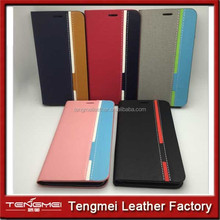 PU Leather Flip Phone Case Cover For Huawei Ascend P7 Good Quality New