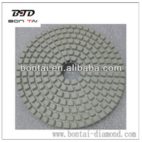 dry use marble polishing diamond pads of Resin 100mm for Granite and stone