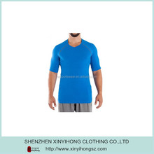 Newest Man Bamboo UV-Protective Raglan Sleeve Plain Tee Shirts