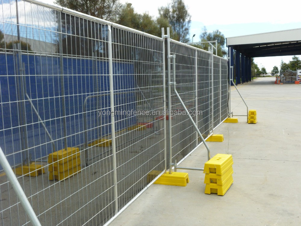 Temporary fence welded fencing mesh galvanized metal