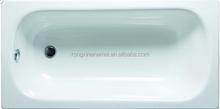 enamel steel plate bathtub hot tubs 1.0 to 1.7m L