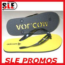 2015 Hot Selling Flip Flops Custom Brand EVA Flip Flops Embossed Flip Flops Slippers