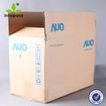 imprimé à double paroi en carton ondulé boîtes en carton avec logo personnalisé