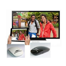 2015 new product wifi display dongle free to air set top box with CE certificate