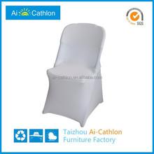 Garden party spandex folding chair cover for wedding cheap