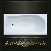 Latest design low price bathtub square small with CE certificate