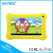 2015 Lattest games free download Arabic lanague support 7 inch kids Android Tablet