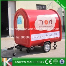 Ideal CE approved of Food Vending Cart Food Carts