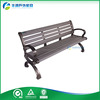 Factory Main Products Outdoor Benches Wood Plastic Bench With cast aluminum