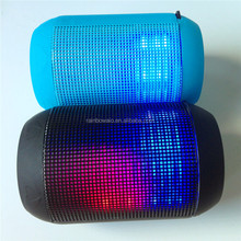 New style portable Wireless Bluetooth stereo cheap bluetooth wireless speakers with LED Light showing and FM radio For DJ