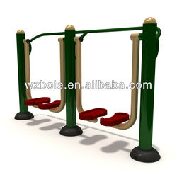 2015 New Product Galvanized Steel Pipe Commercial Gym Equipment Sports Equipment Outdoor Fitness Equipment