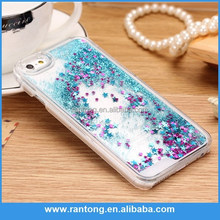 Bling Phone Case Cover For iPhone 6 Liquid Glitter Star Case