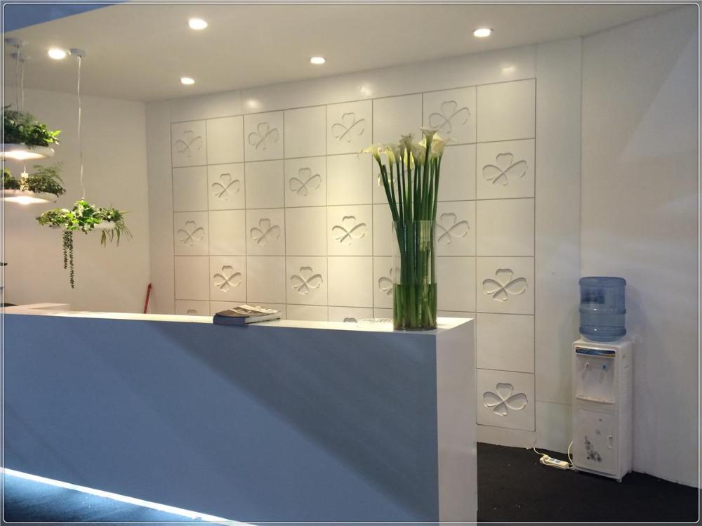 100% acrylique Pierre artificielle, marbre artificiel pour la décoration en pierre à la maison