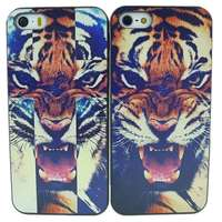 Horrible Tiger Roar Quote Hard Case Back Cover For Apple i phone iPhone 4 4s 5 5G 5S