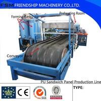 Polyurethane PU Sandwich Panel Production Line For Layers