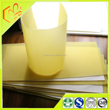 100% natural beeswax made beeswax foundation sheet and comb honey beeswax sheet factory price to sell our clients