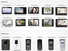 最低価格の熱い工場ビデオドア電話の多くの種類。 ビデオインターコム。 インターホンシステム。 ドアベルインターコム。