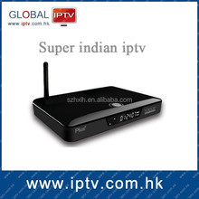 Super indian channels iptv box , 160+ indian channels&vod movies&drama online