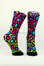 custom made digital printing socks invisible woman