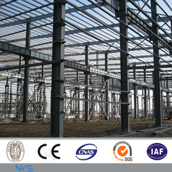 multi-storey ware house prefabricated steel structure building
