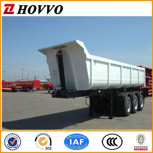 haute quanlity 3 essieux 12 roues 45m3 60 tonnes camion benne remorque benne remorque. Black Bedroom Furniture Sets. Home Design Ideas