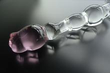 2015 Crystal Rose pink piel verdadera del consolador