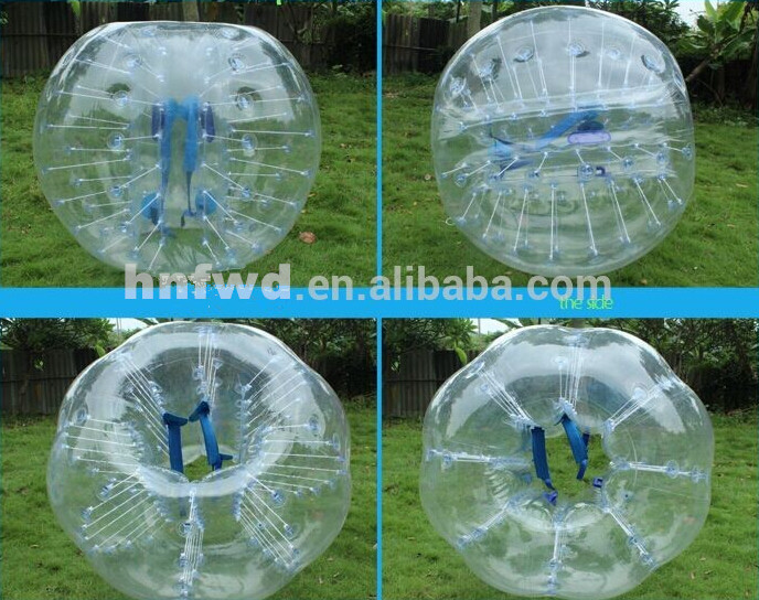 NEWEST Color Bumper Ball/ Bubble Football /Scoccer (Body Zorb )