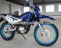 blue chrome dirt bike with yamaha 150cc engine