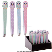 Owl Stainless Steel Eyebrow Tweezer