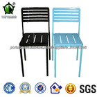 New Style Clear Color estrutura metálica cadeiras ao ar livre