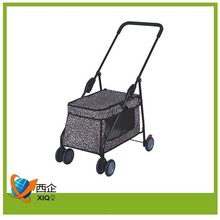 iron pet carrier on wheels