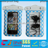 Newest high quality string waterproof case for iphone 5