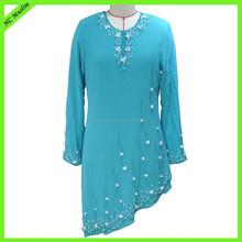 New design model chiffon baju kurung modern wholesale baju kurung