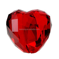 Factory direct sale wholesale high quality wedding heart crystal gifts