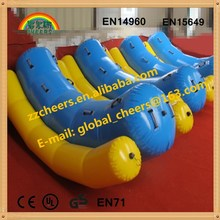 Inflatable water sport toys, funny inflatable water game floating inflatable water seesaw
