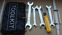 Bicycle repair tools kit
