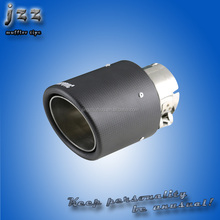 Carbon and Stainless Steel Pipe polished exhaust muffler tips for cars