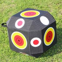 Best selling 50kg/m3 self-healing 18sided foam 3d cube archery shooting target