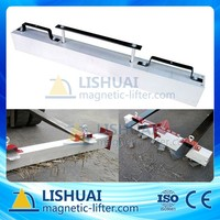 Hang-Type Forklift Magnetic Sweeper for Road Cleaning