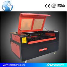 Competitive price!!! fabric laser cutting machine 1390 Intech rotary die board laser cutting machines