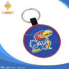 Kansas Jayhawks Basketball Logo club embroidery keyring