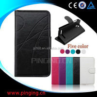 Hot selling mobile phone case design flip leather cover for K-Touch U86