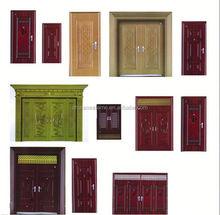 casa su misura design magazzino coperto porte di sicurezza in acciaio