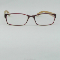 2015 Claasic Women Wooden Leg Eyewear Frame Promotion Price