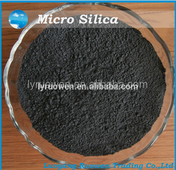 Densified or undensified microsilica for concrete additive