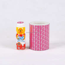 JC hot food packaging bottle cover heat seal film roll,hot melt adhesive film