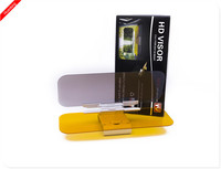 2015 new foldable HD clear view vision day and night anti-glare car sun visor