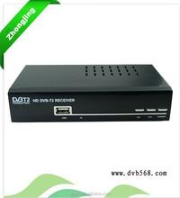 Factory DVB-T2 recorder hdd media player full hd 1080p