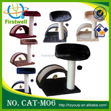 Top new cat trees house/pet product/cat funiture